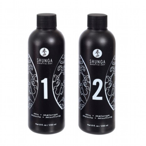 Shunga Massage Gel Strawberries & Champagne
